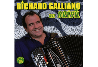 Richard Galliano - Richard Galliano Au Brésil [CD]