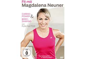 Fit mit Madgalena Neuner - Cardio-Power + Bodyshaping mit Fun Faktor - (DVD)