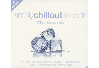 VARIOUS - Simply Chillout Moods (2cd) - (CD)