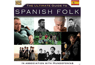 VARIOUS - The Ultimate Guide To Spanish Folk [CD]