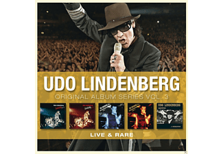 Udo Lindenberg - Original Album Series Vol.3 - Live & Rare [CD]