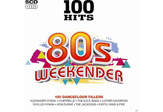 VARIOUS - 100 Hits-80's Weekender [CD]