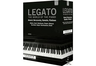 Various - Legato-The World Of The Piano [DVD + Video Album]