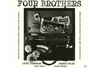 Lucky Thompson, Barney Wilen, Helmut Brandt, Bent Jaedig - Four Brothers - (CD)