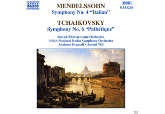 Slovak Philharmonic Orchestra, Anthony Bramall, Polish Nationa - Mendelssohn: Symphony No. 4 / Tchaikovsky: Symphony No. 6, ' - (CD)