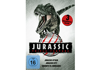 Jurassic Triple Feature - (DVD)