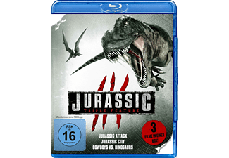 Jurassic Triple Feature [Blu-ray]