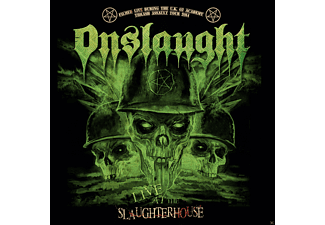 Onslaught Live At The Slaughterhouse CD + DVD Βίντεο