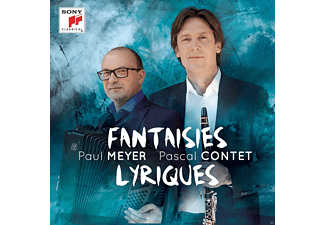 Paul Meyer, Pascal Contet - Fantaisies Lyriques [CD]