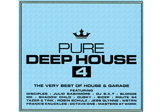 VARIOUS - Pure Deep House 4 [CD]