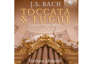 Stefano Molardi - Toccata & Fugue-Famous Organ Music - (CD)