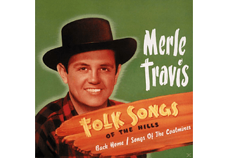 Merle Travis - Folksongs Of The Hills - (CD)