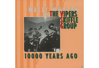 The Vipers Skiffle Group - 10.000 Years Ago   3-Cd & Book - (CD)