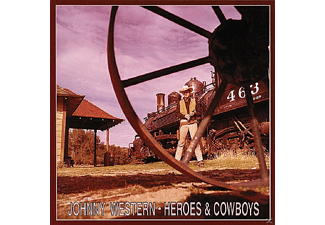 Johnny Western - Heroes And Cowboys   3-Cd & Book - (CD)