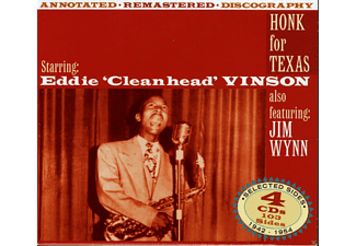 Jim Wynn, Eddie Cleanhead Vinson - Honk For Texas - (CD)