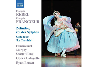 Jean-paul Fouchécourt, William Sharp, Heidi Grant Murphy, Hong, Ryan/opera Lafayette Brown - Zelindor,Roi Des Sylphes/Suite Le Trophee - (CD)