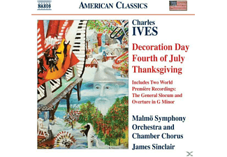 VARIOUS, James/malmö So Sinclair - Holidays Symphonies II-IV - (CD)