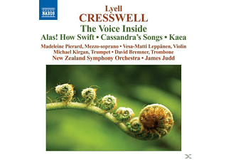 New Zealand So, Judd, Creswell, James Judd New Zealand Symphony Orchestra - The Voice Inside/Alas! How Swift - (CD)