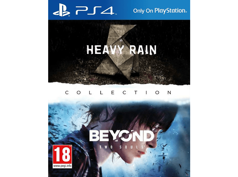 The Heavy Rain & Beyond Two Souls Collection PlayStation 4 gaming   offline sony ps4 παιχνίδια ps4 gaming games ps4 games
