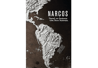 Narcos Poster There's no business like blow business