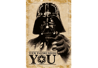 Star Wars Poster Darth Vader Your Empire Needs You