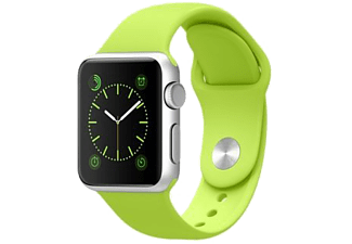 APPLE Watch Sport 42 mm - Silver Aluminium/Green