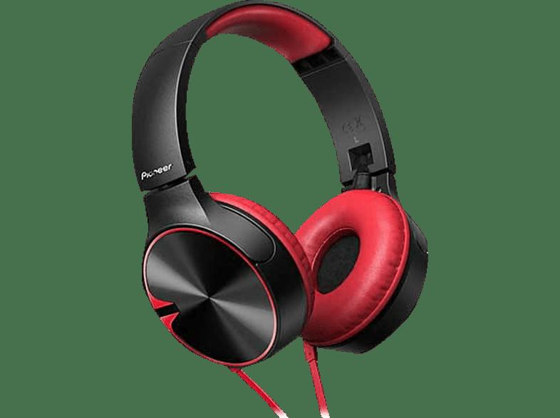 PIONEER SE-MJ722T Red - (SE-MJ722T-R) αξεσουάρ ακουστικά ακουστικά headphones photo   video   offline ακουστικά ακουστ