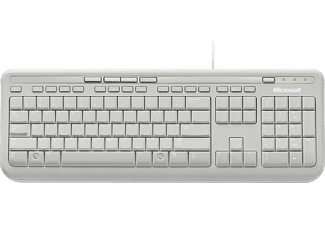 MICROSOFT Wired Keyboard 600, Weiß
