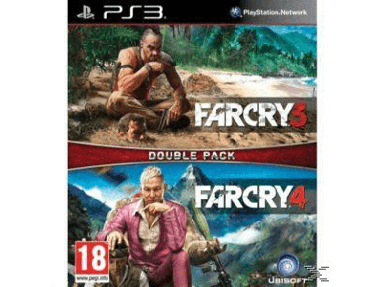 Compilation Far Cry 3 + Far Cry 4 gaming   offline sony ps3 παιχνίδια ps3 gaming games ps3 games