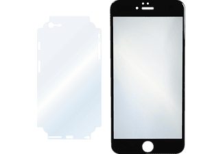 HAMA Schutz-Set, Schutzglas/-folien-Set, Transparent/Schwarz, passend für Apple iPhone 6 Plus, iPhone 6s Plus