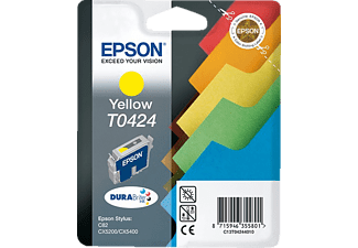 EPSON Original Tintenpatrone Register Gelb (C13T04244010)