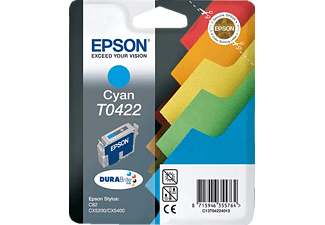 EPSON Original Tintenpatrone Register Cyan (C13T04224010)