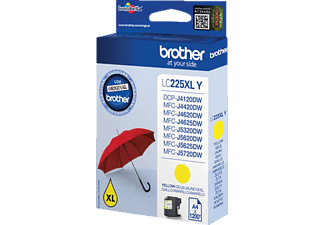 BROTHER Original Tintenpatrone Gelb (LC-225XLY)