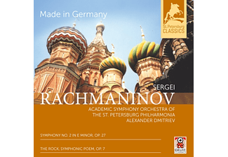 Alexander Dmitriev - Made In Germany-Sinfonie 2/The Rock [CD]