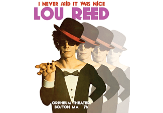 Lou Reed - Orpheum Theater,Boston,Ma 76 (180 Gr.Double Vin - (Vinyl)