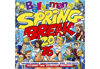 VARIOUS - Ballermann Spring Break 2016 - (CD)