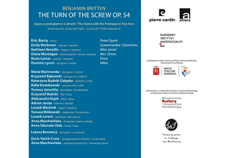 Barry/Workman/Montague/Lomas/+ - The Turn Of The Screw Op.54 [CD]
