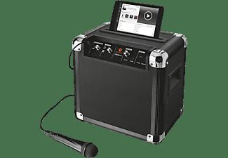 trust fi sta mobiler kabelloser bluetooth lautsprecher mit kraftvollem sound akku und mikrofon. Black Bedroom Furniture Sets. Home Design Ideas