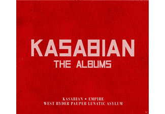 Kasabian - The Albums - (CD)