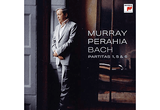 Murray Perahia - Partitas 1, 5 & 6 (CD)