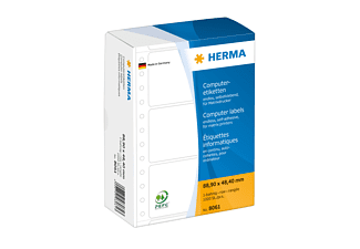 HERMA 8061 Computeretiketten  88.9x48.4 mm A4 1000 St.
