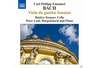Carl Philipp Emanuel, Kouzov,Dmitry/Laul,Peter - Gambensonaten - (CD)