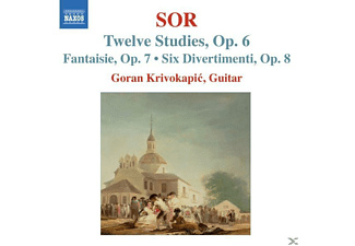 Goran Krivokapic - 12 Studien/Fantasie/6 Divertimenti - (CD)