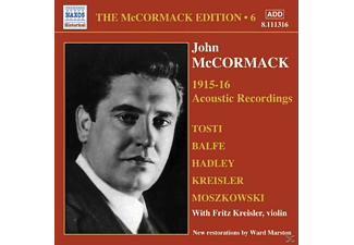 John Mccormack - Acoustic Recordings 1915-16 - (CD)