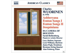 Rothenberg & Da Camera Of Houston - Asberyana/Fenton Songs I+II - (CD)