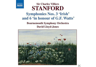 Bornemouth So, Lloyd-Jones/Bornemouth SO - Sinfonien 3+6 - (CD)