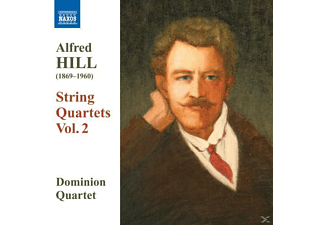 Dominion String Quar, Dominion String Quartet - Streichquartette Vol.2 - (CD)