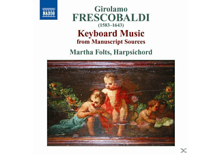 Martha & Harpsichord Folts, Martha Folts - Cembalomusik - (CD)
