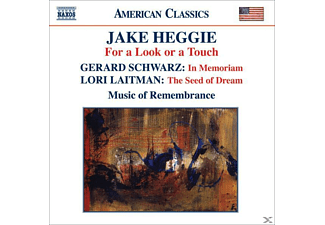 Jake Heggie, Music Of Remembrance - For A Look Or A Touch/In Memoriam - (CD)