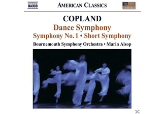 VARIOUS, Marin Bournemouth Symphony Orchestra & Alsop - Sinfonie 1+2/Dance Symphony - (CD)